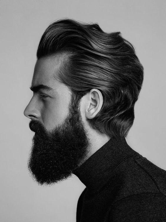 Børstet-Back-Bølger frisure