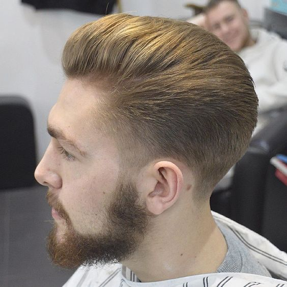 Brushed-back-with-highlights