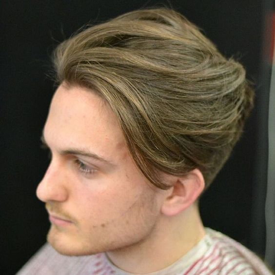 Cooleste mellemlangs frisurer til mænd   Mænd Frisurer
