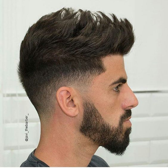 Combine-medium-length-hairstyles-for-men