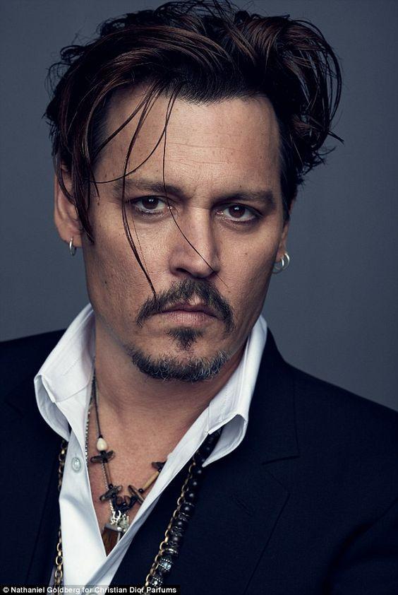 Johnny-Depp frisure