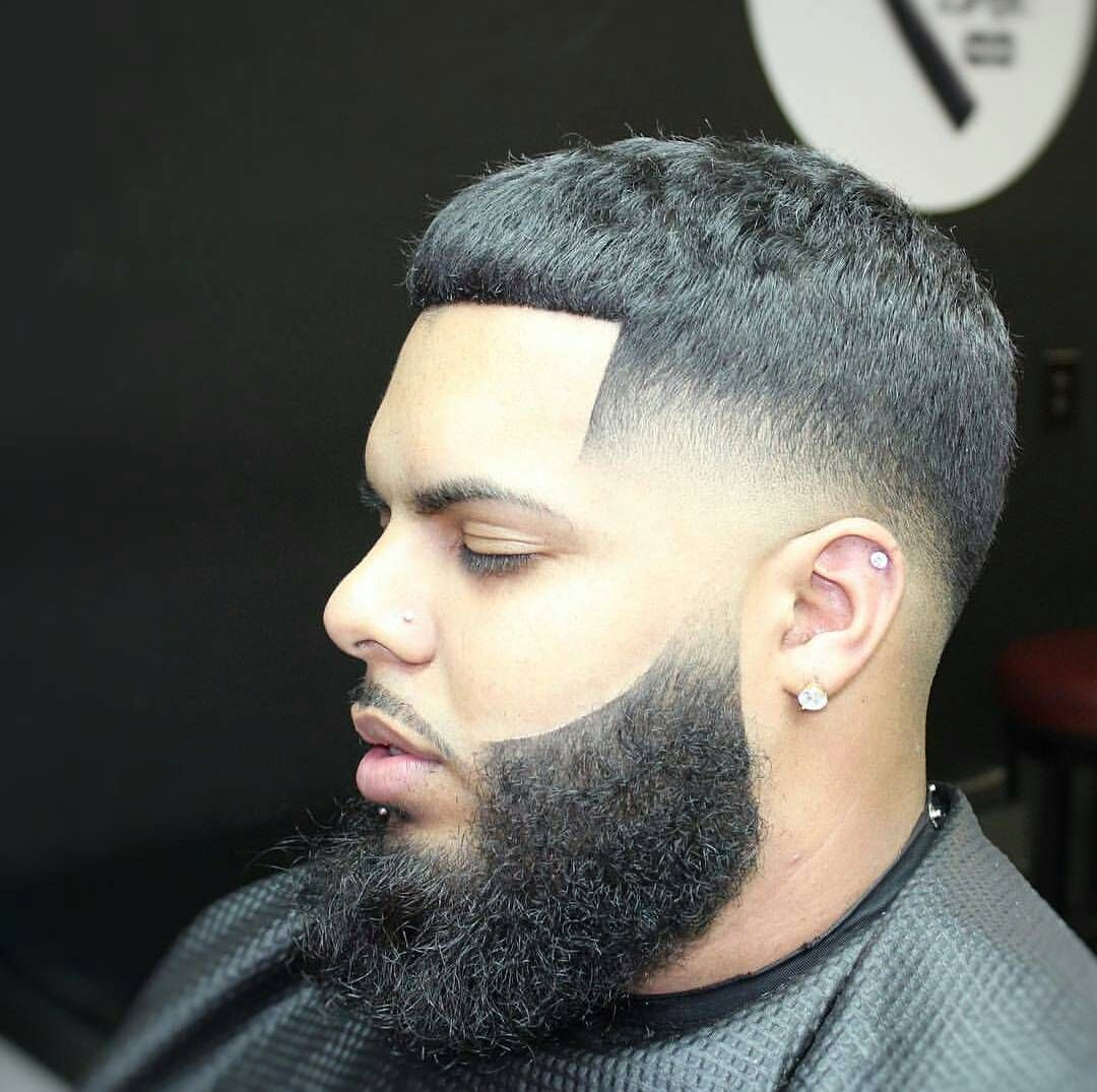Bald-Fade-med-Beard-og-Long-Top