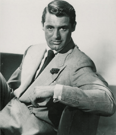 Cary Grant frisure