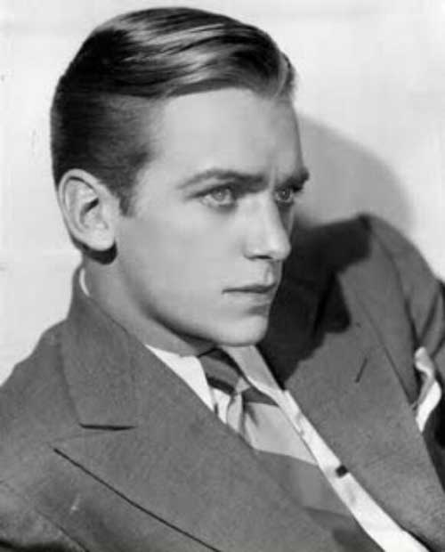 Douglas Fairbanks Jr frisure