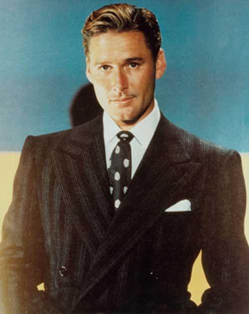 Errol Flynn frisure
