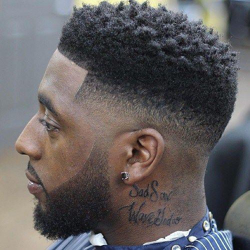 Fade-frisurer-til-sorte-mænd
