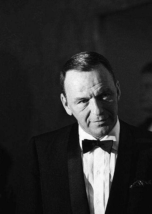 Frank Sinatra frisure