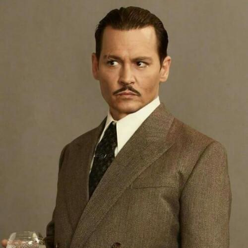 Johnny Depp 1930erne herre frisurer