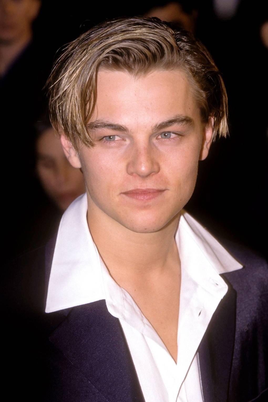 Leonardo DiCaprio frisure