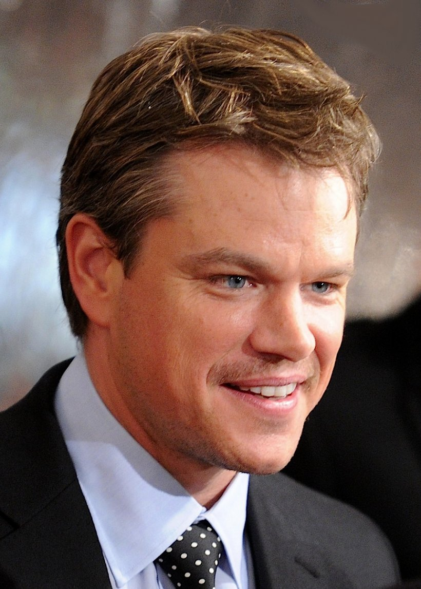 Matt Damon frisure
