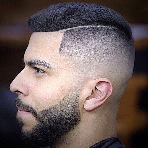 Razor-Fade-med-lille-skæg