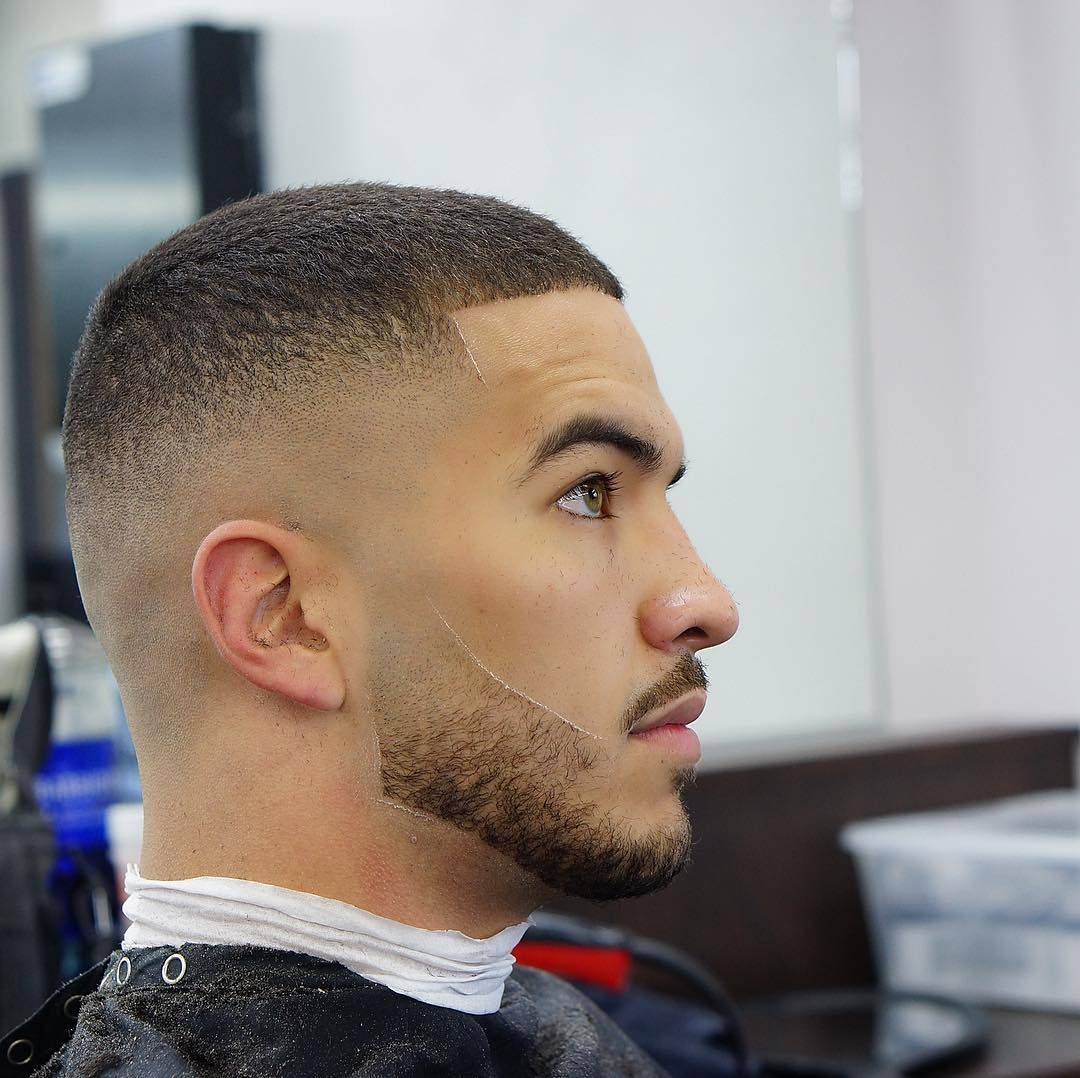 Simple-Bald-Fade-with-Beard