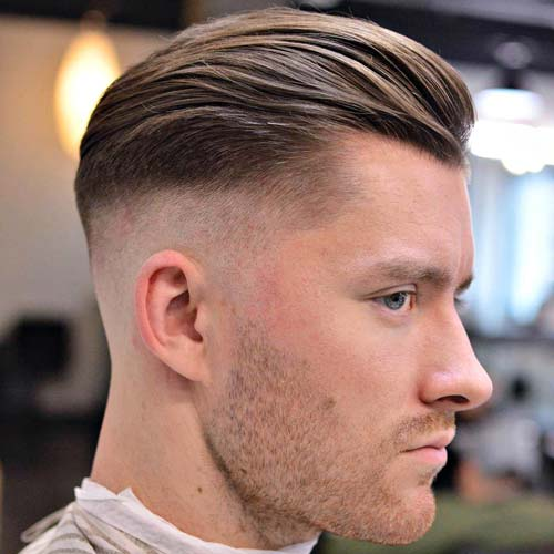 Textured-Bald-Fade-with-Beard-1