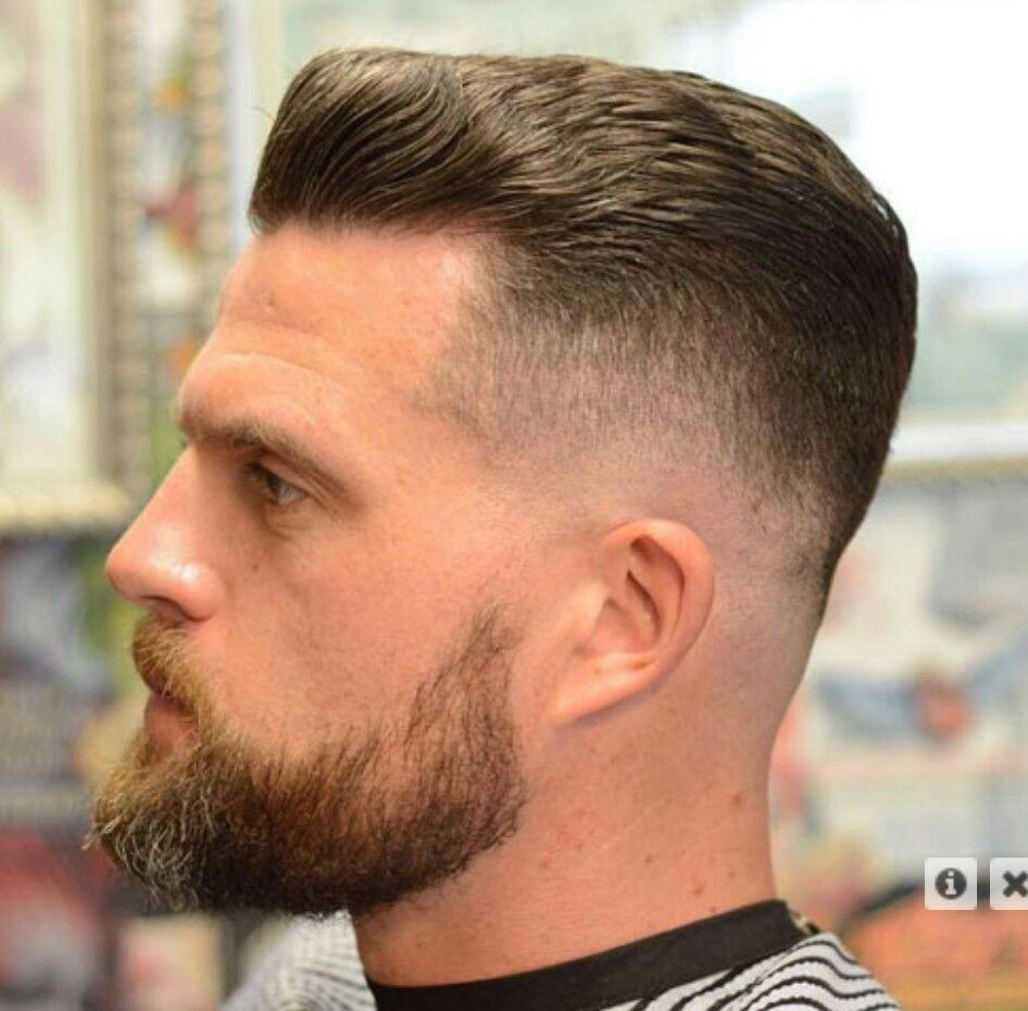 Textured-Bald-Fade-with-Beard