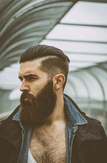 The-Lumberjack-Bald-Fade-with-Beard