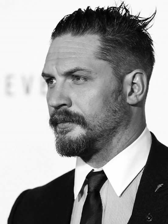 Tom Hardy frisure