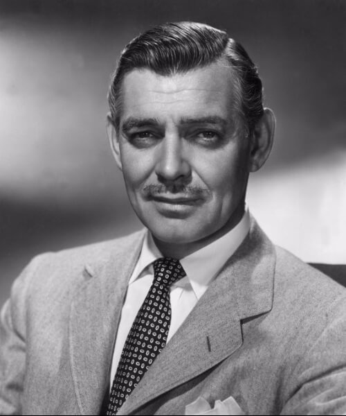 clark gable frisure