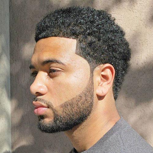 Afro Short Haircut til mænd