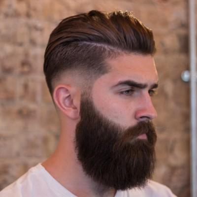 Beard og Pompadour