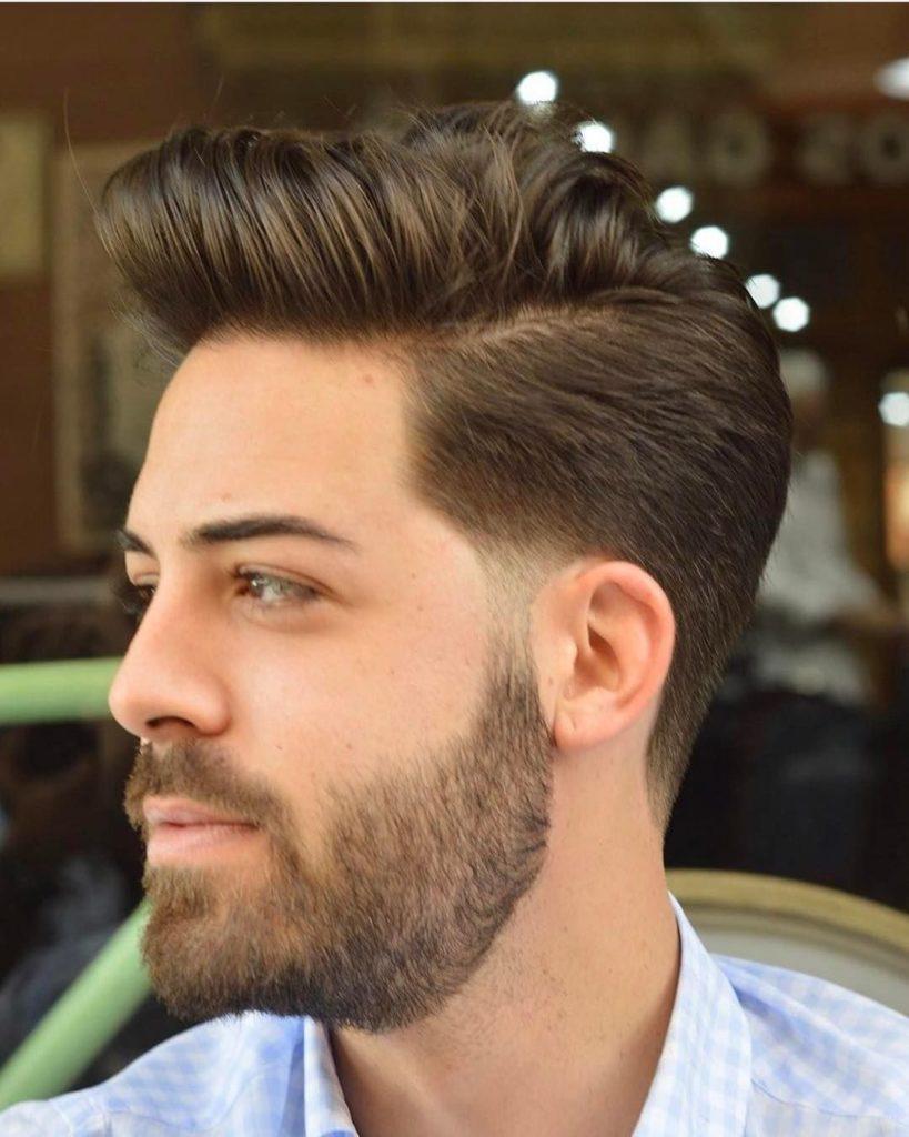 Classic Quiff Haircut