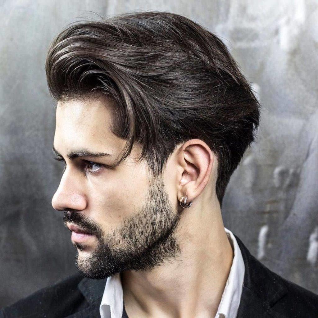 Elegant Medium Length Curls