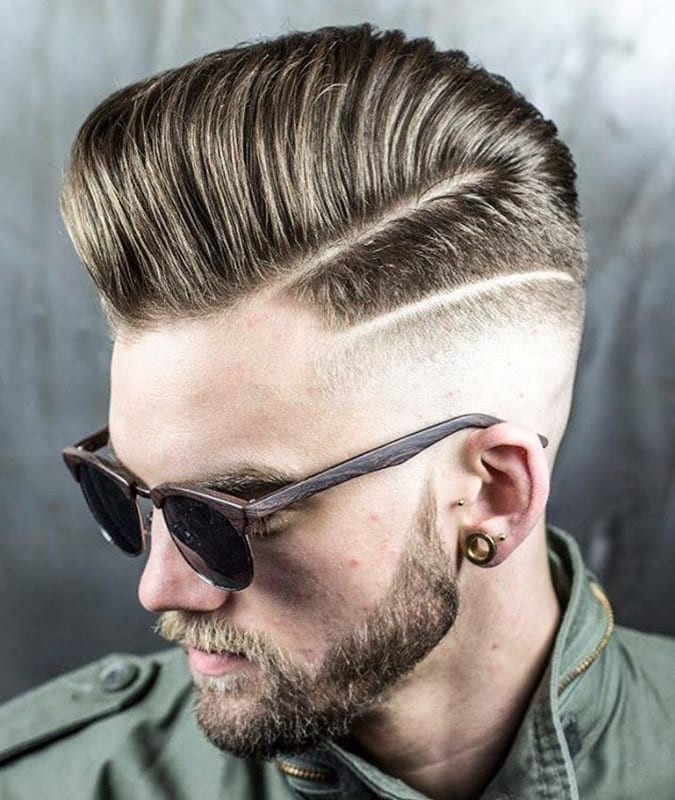 Hårde del hårklipp