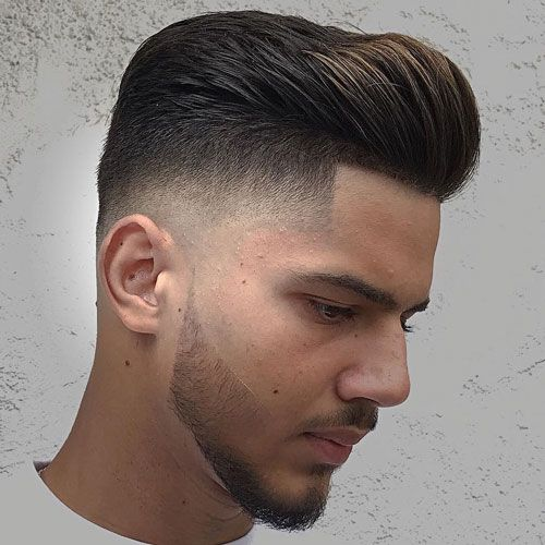 High Pompadour Fade