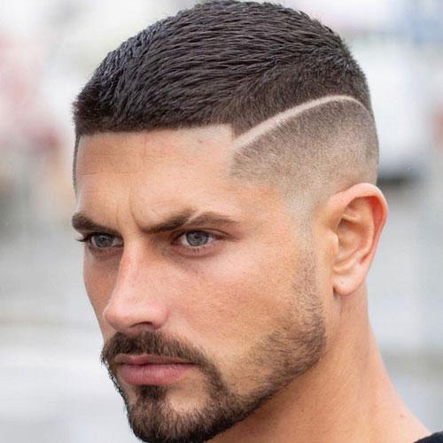 Meget korte frisurer til mænd