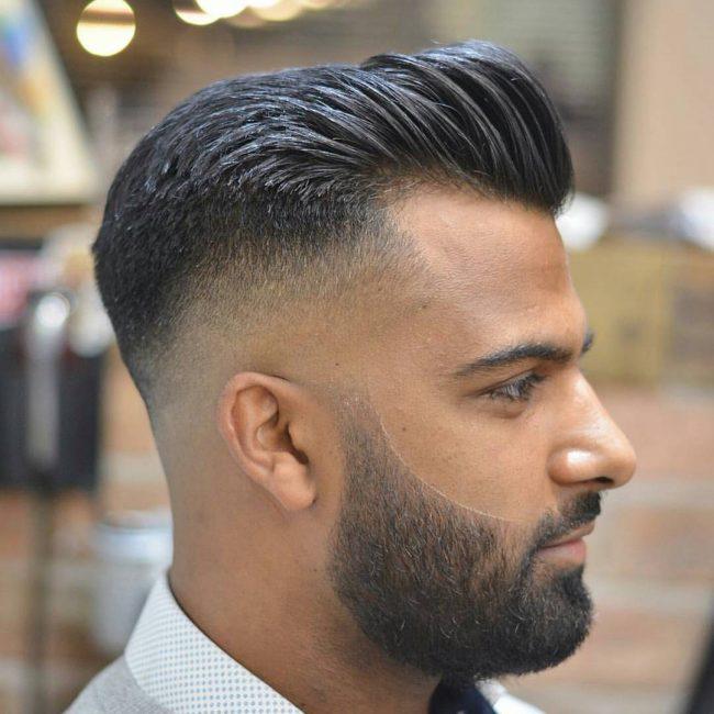 Moderne Pompadour Haircut