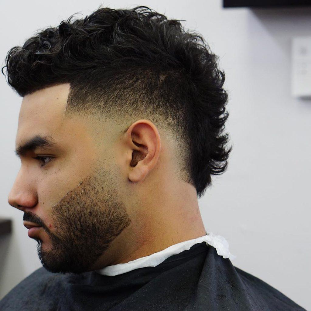 Mohawk hårklipp