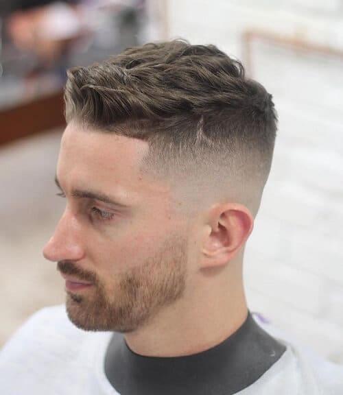 Pompadour Short Haircuts til mænd