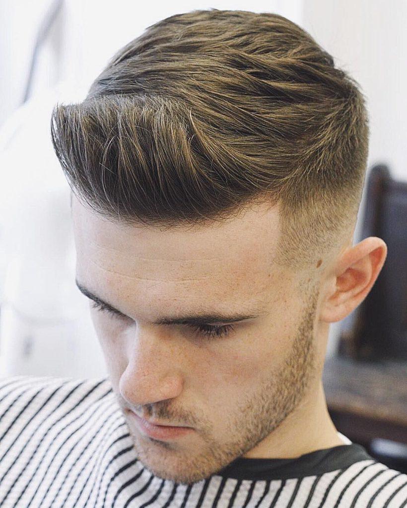 Quiff Short Haircuts til mænd