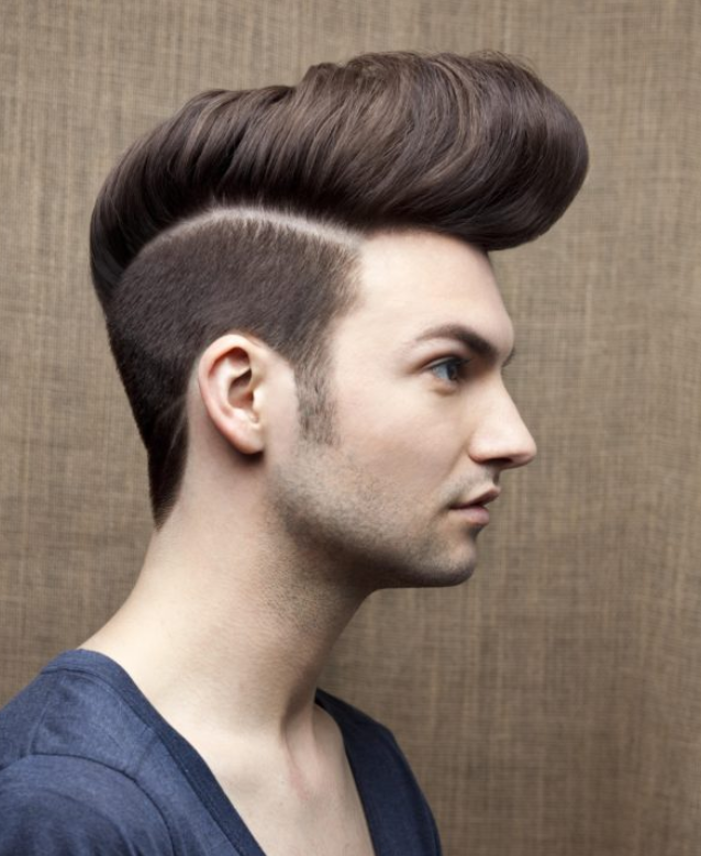 Sculpted Quiff Haircut