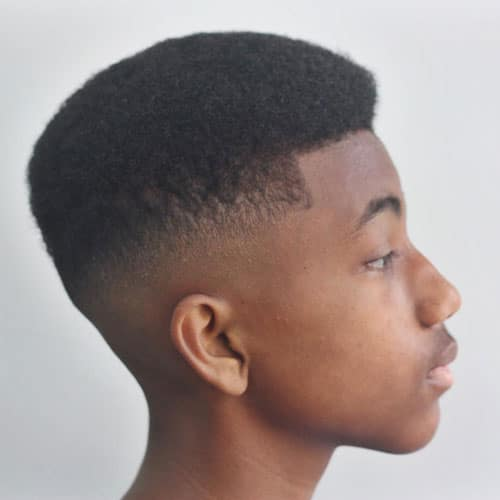 Sort Afro Haircut