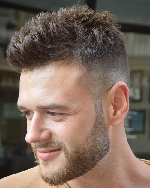Spiky Short Haircut til mænd