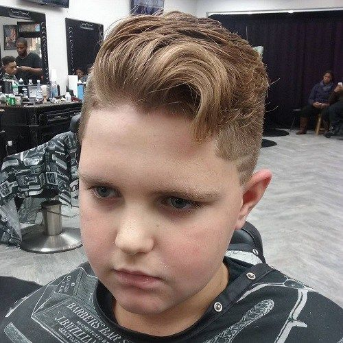 Teenage Quiff Haircut