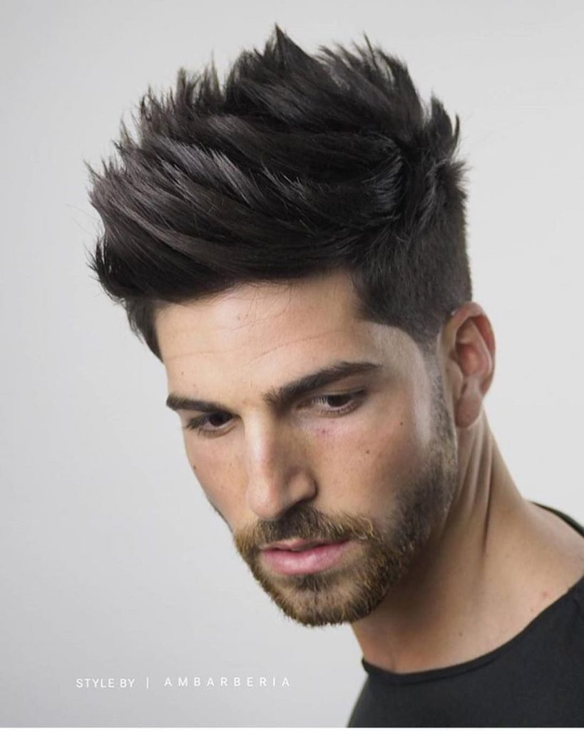 Textured Quiff Haircut