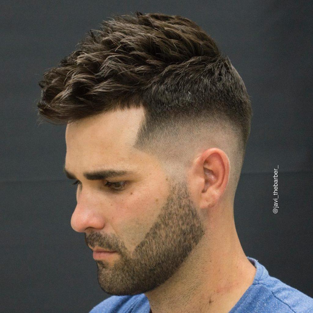 Textured Short Haircuts til mænd