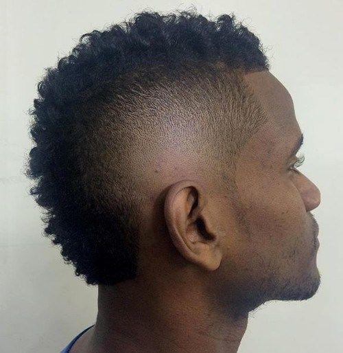 Bølget-Mohawk-Frisure