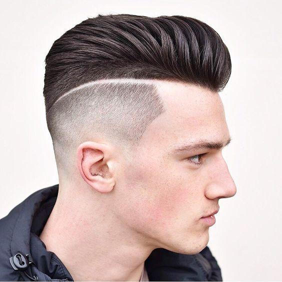 Faux-Hawk-Herre-Hairstyles-til-groft-bølget-hår