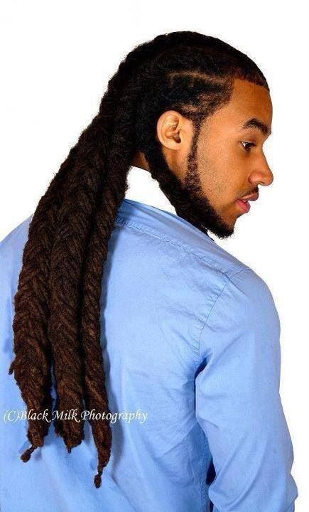 Tight-Flettet-Dreadlock-Styles-For-Men